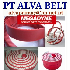 MEGADYNE TIMING BELT PT ALVA BELT DAN CONVEYOR PU