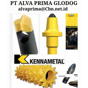 KENNAMETAL DRILLING TOOLING & SIZING IN MINING CRUSHER PT ALVA PRIMA GLODOK