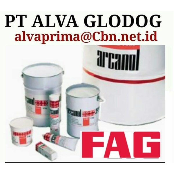 FAG ARCANOL GREASE INDUSTRIAL GREEESE LUBRICAN PT ALVA BEARING GLODOG
