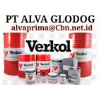 VERKOL GREASE INDUSTRIAL GREEESE LUBRICAN PT ALVA BEARING GLODOG 2