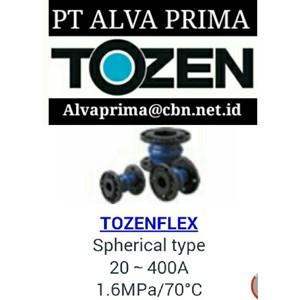 TOZEN FLEXIBLE JOINT PT ALVA VALVE TOZEN EXPANSION JOINT
