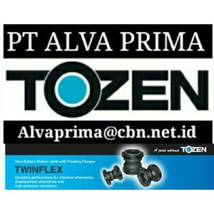 TOZEN FLEXIBLE JOINT PT ALVA VALVE TOZEN EXPANSION JOINTS