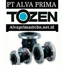 TOZEN FLEXIBLE JOINT PT ALVA VALVE TOZEN EXPANSION JOINTS TWINFLEX