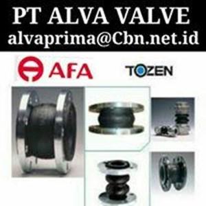 AFA FLEX RUBBER EXPANSION JOINT PT ALVA VALVE