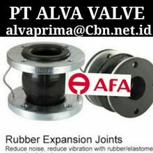 AFA FLEX RUBBER EXPANSION JOINT PT ALVA VALVE RUBBER TWINFLEX
