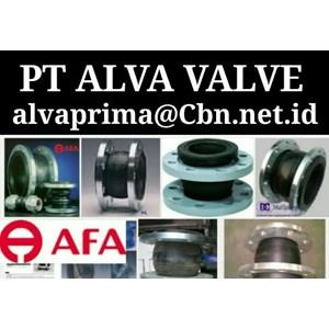 AFA FLEX RUBBER EXPANSION JOINT PT ALVA VALVES