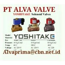 YOSHITAKE VALVE  GATES PT ALVA GLODOK  VALVE YOSHITAKE BALL GATE GLOBE VALVE CONTROLS