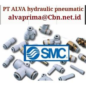 PT ALVA SMC PNEUMATIC FITTING SMC VALVE SMC PNEUMATIC HYDRAULIC