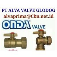 ONDA VALVE GATE BALL VALVE PT ALVA VALVE GLODOK