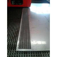 Jual  Jasa Perforated Square Stainless Steel