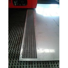 Jasa Perforated Square Stainless Steel