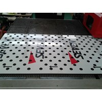 Jual Jasa  Aluminium Composite Panel Perforated