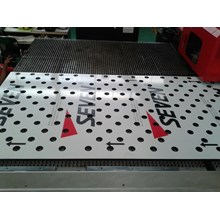 Jasa  Aluminium Composite Panel Perforated