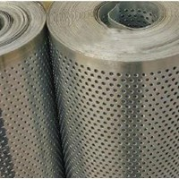 Jual  Jasa Perforated Metal Roll Coil