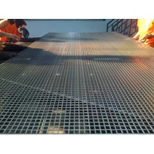 Plat Besi Grating Perforatd Square