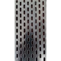 Perforated Slot Hole @ kapsul RE 18 mm x 6 mm in sheet