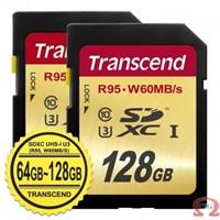 Jual  SDXC UHS-I U3 (R95 W60mbs) 64GB-128GB