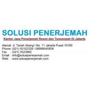 Jasa Penerjemah Bahasa Jerman  By Solusindo Karya Nusa