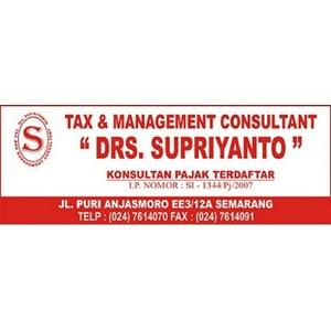 Konsultan Pajak By DRS. Supriyanto
