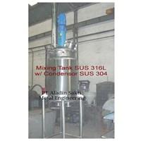 Mixing Tank SUS 316L W Condensor SUS 304