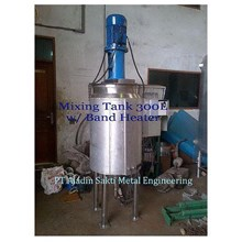 Water Heater Mixing Tank 300L Band Heater
