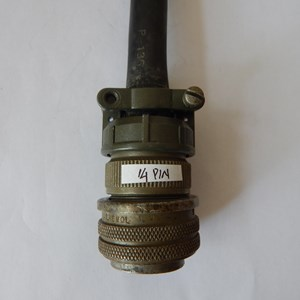 Lincoln Plug Amphenol 14 Pin S12020-32 For CV Power Source