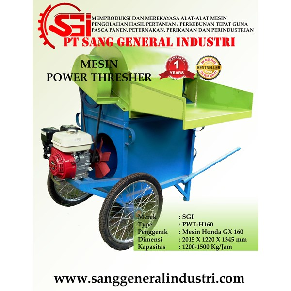 MESIN PENGOLAH PADI POWER THRESHER (PERONTOK PADI/GABAH)