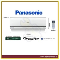 AC Air Conditioner Panasonic Standard Inverter 1.5PK (CS-PS12NKP)