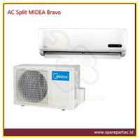 AC Air Conditioner Split MIDEA Bravo Series 3/4 PK (MSB2-09CRN1)