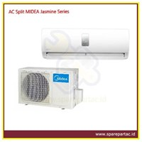 AC Air Conditioner Split MIDEA Jasmine Series 1/2PK (MSJ-05CRN1)