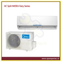 AC Air Conditioner Split MIDEA Fairy Series 1/2PK 260W (MSFL-05CRN1)