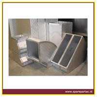 DUCTING AC TDI PIR Panel Preinsulated Alumunium Duct 1200x4000x20 mm 1