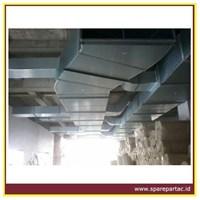 DUCTING AC TD PIR Panel Preinsulated Alumunium Duct 1200x4000x20 mm 1