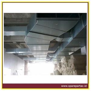 DUCTING AC TD PIR Panel Preinsulated Alumunium Duct 1200x4000x20 mm
