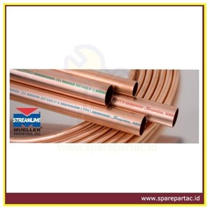 PIPA AC COPPER TUBE STREAMLINE MUELLER.