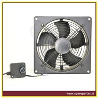 KIPAS AC Plated Mounted Industrial Ventilating Fan
