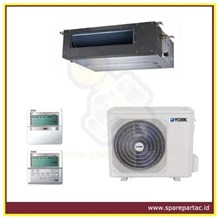 DUCTING AC YORK DUCT SERIES R410A 50 Hz SIDE DISCH