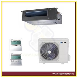 DUCTING AC YORK DUCT SERIES R410A 50 Hz SIDE DISCHARGE FIXED SPEED