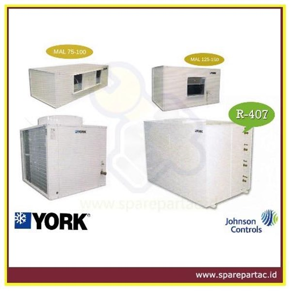 Sell DUCTING AC YORK AIR-COOLED DUCTED SPLIT AIR CONDITIONERS