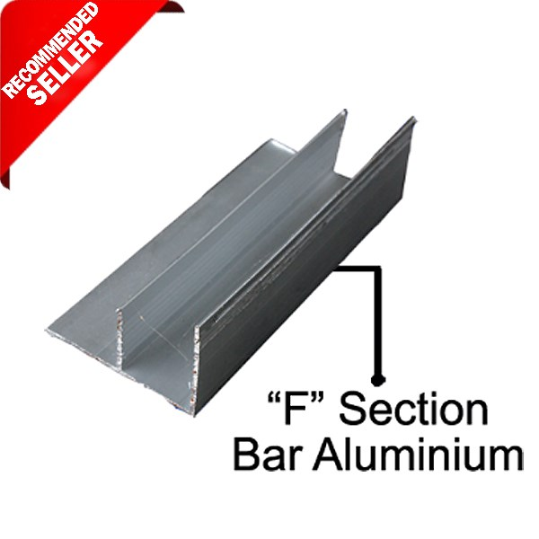 "Ducting AC ""F"" Section bar Aluminium"
