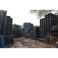 Supplier pallet plastik bekas