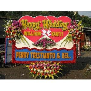 Sell Board Happy Wedding Flowers From Indonesia By Cv Ajang
