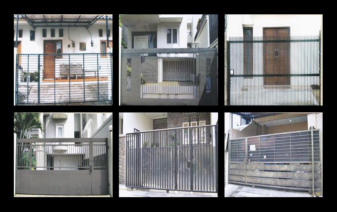 Jual Pintu Pagar Besi Harga Murah Kota Tangerang Oleh Cv