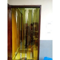 Tirai PVC Strip Kuning (0216246124)