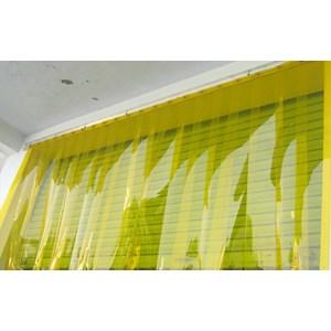 tirai pvc yellow