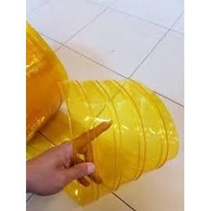 Tirai PVC Ribbed Double