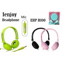 Jual Headphone EHP-H100 + MIC Telephone
