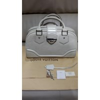 Tas LV Bowling Montaigne GM in Ivory