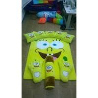 Jual Karpet Set Karakter Sponge Bob Warna Kuning