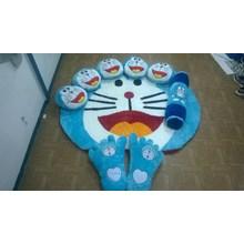 Karpet Set Karakter Motif Doraemon